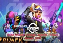 Photo of Klaim Kode Redeem Omega Legends Terbaru Januari 2021