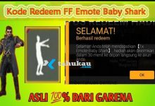 Photo of Klaim Kode Redeem FF Emote Baby Shark