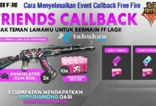 Photo of Cara Menyelesaikan Event Callback Free Fire, Cek Disini