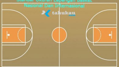 Photo of Standar Ukuran Lapangan Basket Nasional Dan Internasional