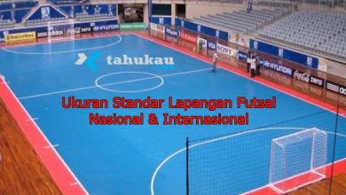 Photo of Ukuran Standar Lapangan Futsal Nasional & Internasional